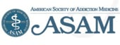 Logo: American Society of Addiction Medicine
